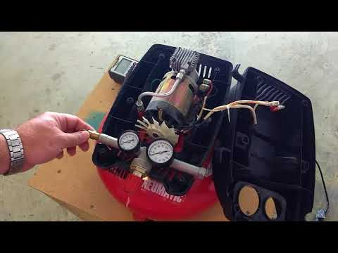 $4 Thrift Store Find! Will It Run? Harbor Freight Central Pneumatic 95275 Compressor