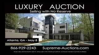 Atlanta Ga Contemporary Luxury Home For Sale [absolute Auction]