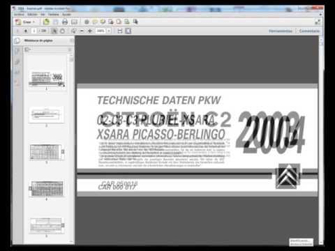 citro n c2 service manual taller manuel reparation manuale rh youtube com 2006 Citroen C2 Citroen 2CV