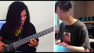 Yohan Kim - Because of who you are - Bass Lesson #teachmehowtoscore #basstutorial