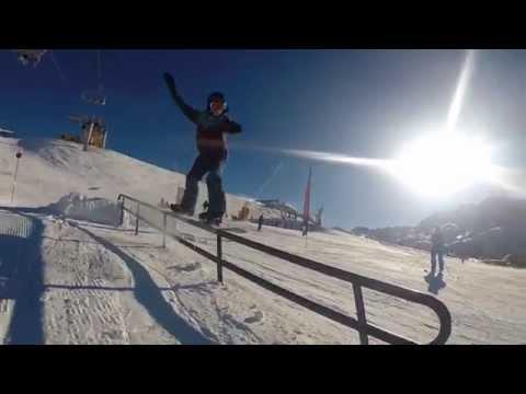 Gopro ski and snowboard Avoriaz 2015