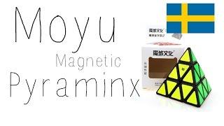moyu magnetic pyraminx unboxing i speedcube se svenska