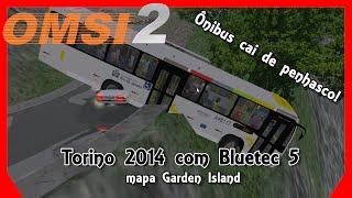 OMSI 2 - Ônibus cai em penhasco | Torino 2014 no mapa Garden Island