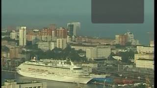 Японский лайнер-гигант зашел во Владивосток