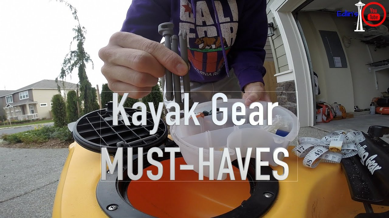 Kayak Fishing gear ESSENTIALS