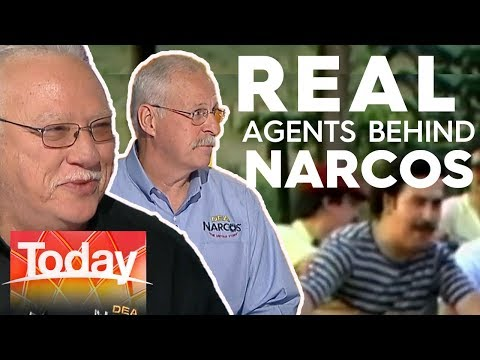 Meet the real DEA agents who took down drug lord, Pablo Escobar | Today Show Australia