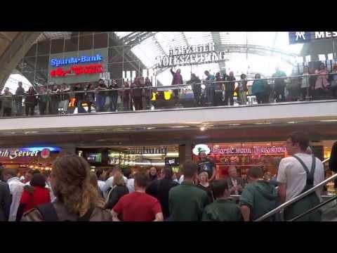 "16.04.13 Flashmob Leipzig Hauptbahnhof ""Ode an die Freude"""