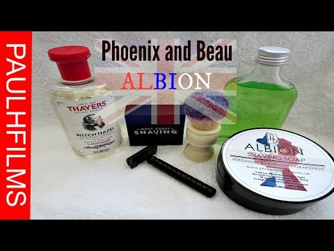 Phoenix and Beau  - ALBION - Shaving Soap