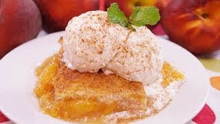 Peach Cobbler Recipe:  How To Make Peach Cobbler: From Scratch: Di Kometa: Dishin With Di # 143
