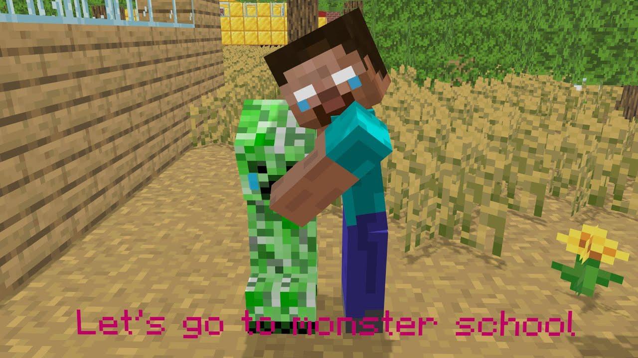 Monster School : CREEPER LIFE (part 1) - Minecraft Animation