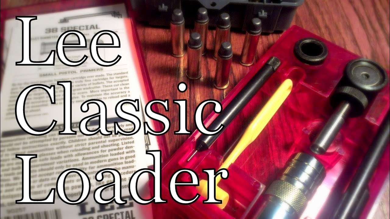Reloading 38 spl with Lee Classic Loader
