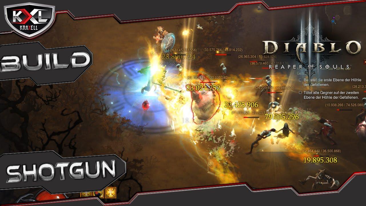 Diablo  Crusader Build Shotgun