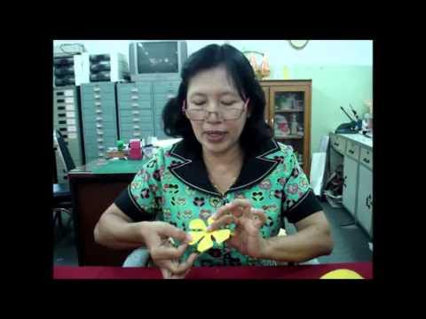 วีดีโอสาธิตตัดดอกไม้