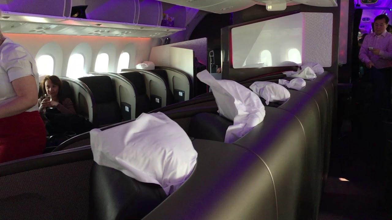 Upper Class Virgin Airlines Business Class 787 Review