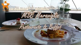 In questo video possiamo vedere tutti i ristoranti della MSC Meravi...