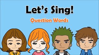 05 question words? song who why what when where how english on tour