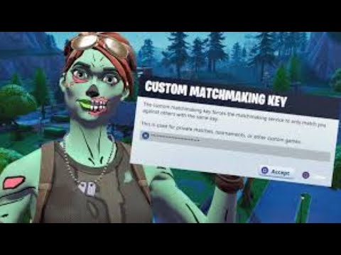 tournament matchmaking key fortnite