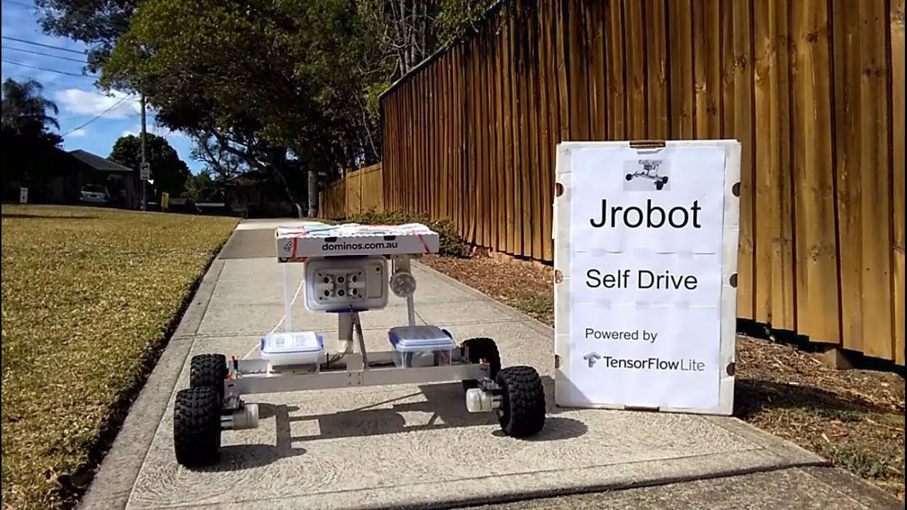 Jrobot Self Drive Powered by TensorFlow Lite - Arduino Project Hub