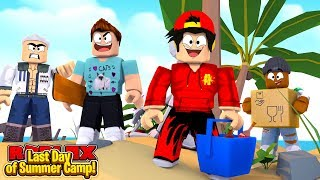 ROBLOX - THE LAST DAY OF SUMMER CAMP!!
