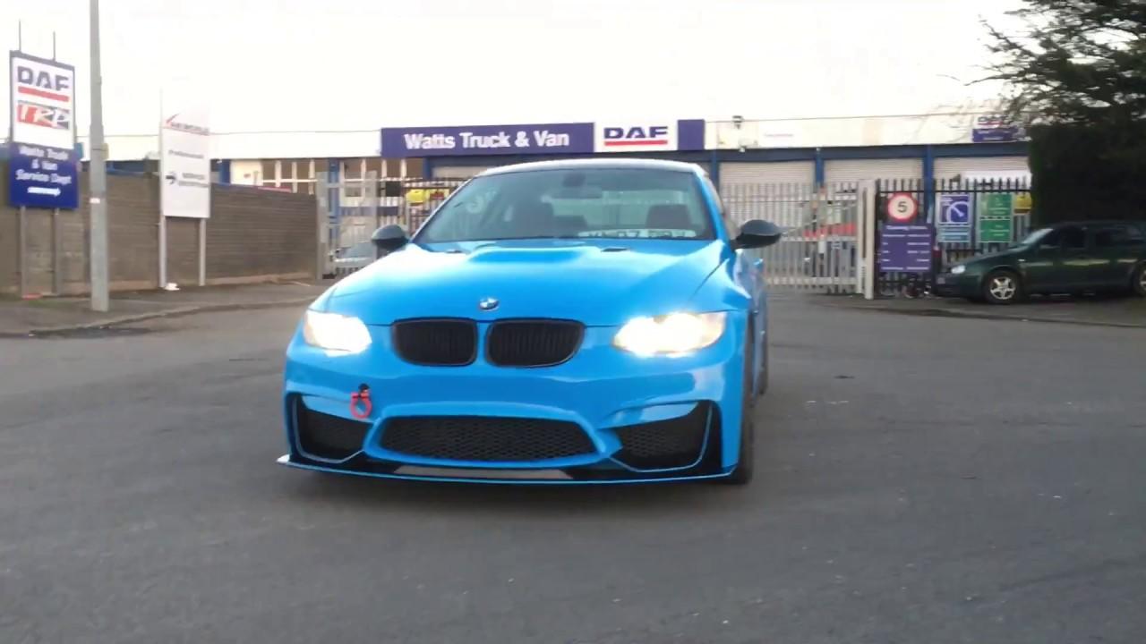 BMW e92 M4 body kit part 2