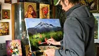 ,VARNA NECULAI,la sevalet,pictura