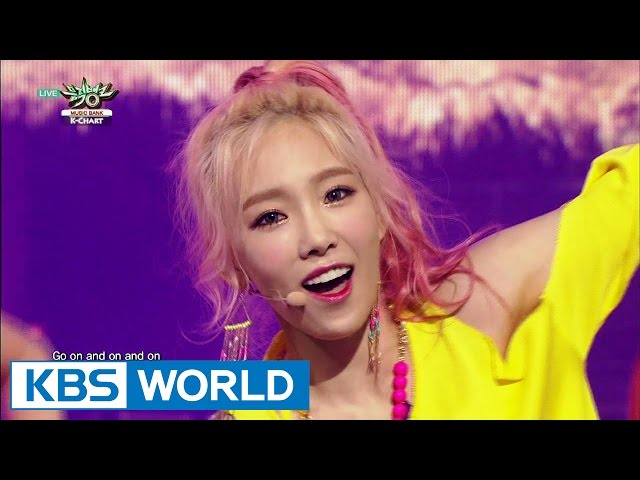 Girls' Generation (소녀시대) - PARTY [Music Bank K-Chart #1 / 2015.07.17]