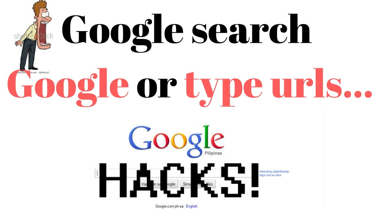 Googlesearch google or type url
