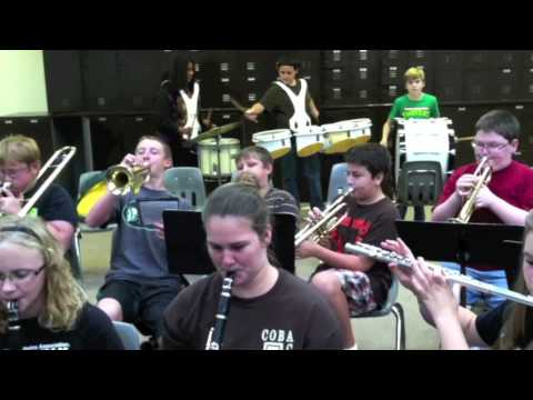 Bangs Middle School band