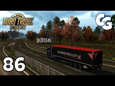 Euro Truck Simulator 2 - Ep. 86 - Tallinn to Liepāja - ETS2 ProMods 2.11 Gameplay