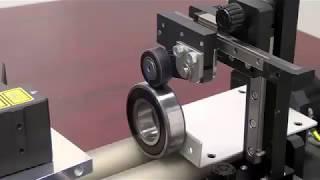 Prüfung eines Lagers - KEYENCE Modellreihe LJ-V - Lasertriangulationssensor