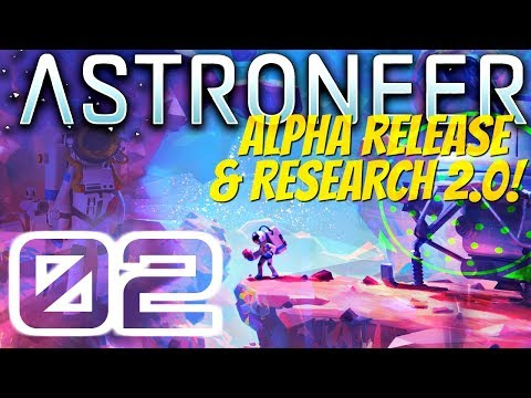 A LOOK AT THE CATALOG AND UNLOCKING TECHNOLOGY | Astroneer Alpha 0.5.0.0 #2