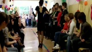 Pokaz mody i fryzur w Puławach