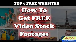Top 5 Best Websites TO Download Free Video Stock For Commercial Use