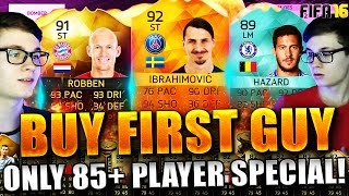 FIFA 16: BUY FIRST GUY (DEUTSCH) - FIFA 16 ULTIMATE TEAM - BUY FIRST GUY! HOLY SHIT 85+ SPECIAL!!!
