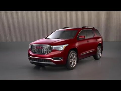 Simple 2017 GMC Acadia Denali  First Look  YouTube