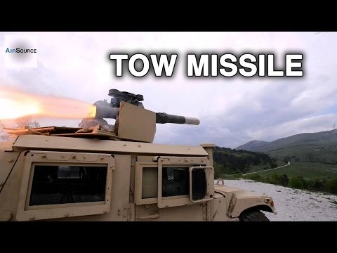 TOW-2B Anti-Tank Missile Live-Fire