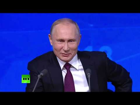 Putin holds annual Q&A session (streamed live)