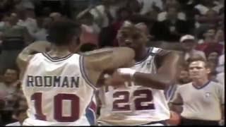 NBA Vault: Los Angeles Lakers vs Detroit Pistons 1989 NBA Finals Game 1