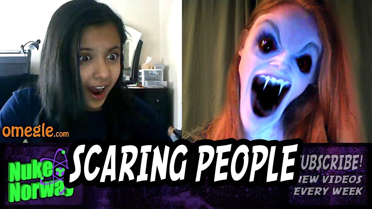 Scary Prank on Omegle 6 - Face Jerk Twerk
