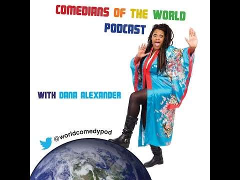 Comedians of the World Podcast- Swansea, Wales with Steffan Alun