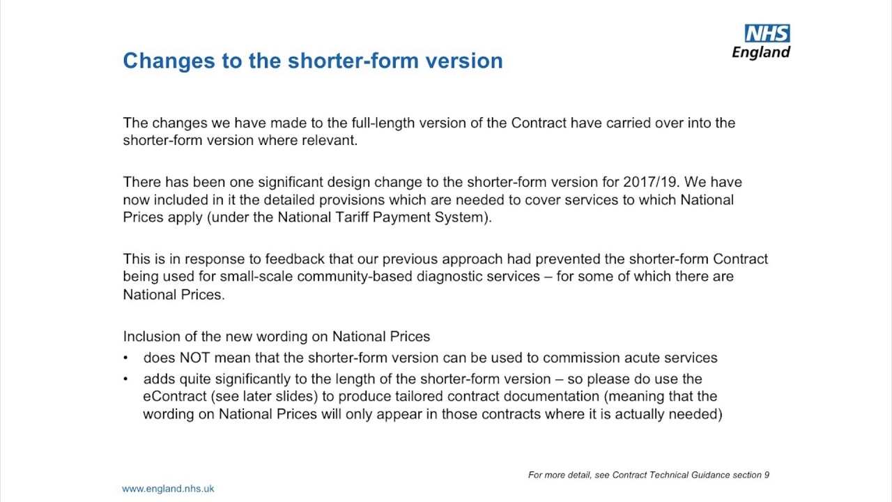 Nhs standard contract video 01 youtube nhs standard contract video 01 falaconquin