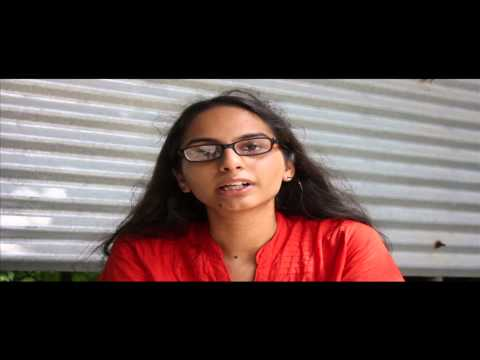 Tarika, Cultural Secretary candidate for TISS Students' Elections 2014