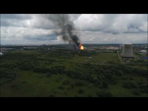 (12+) Пожар на ТЭЦ-27