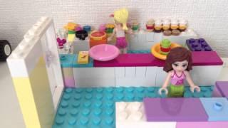 レゴフレンズ動画♪ 「ハンバーガーショップ」