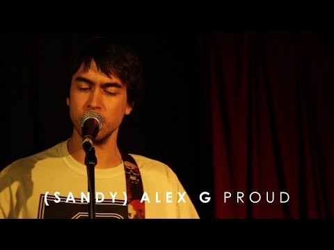 (Sandy) Alex G - 'Proud' (Live at 3RRR)