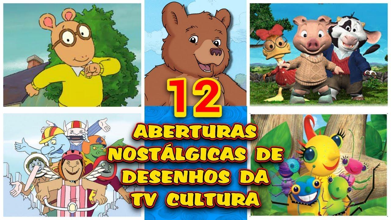 Tv Cultura 12 Aberturas Inesquecíveis De Desenhos Animados Anos 2000