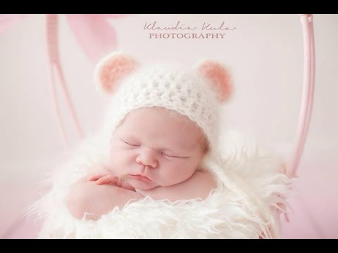Tutorial HOW TO CROCHET baby mouse hat ,easy beginner pattern - YouTube