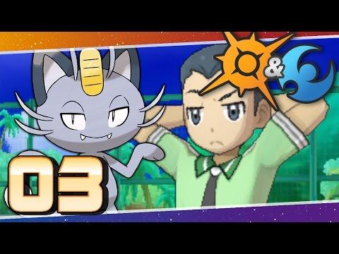 Pokémon Sun and Moon - Episode 3 | Trainers' School Challenge!