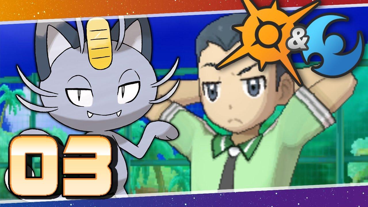 Pokemon sun and moon anime episode 3
