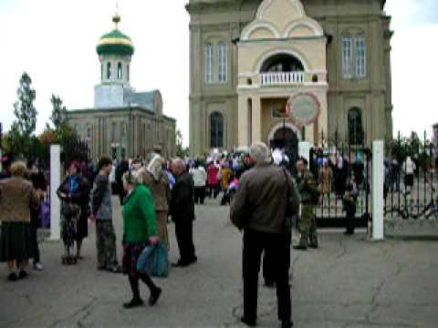 Крестный ход на Покров в Храме г Невинномысска